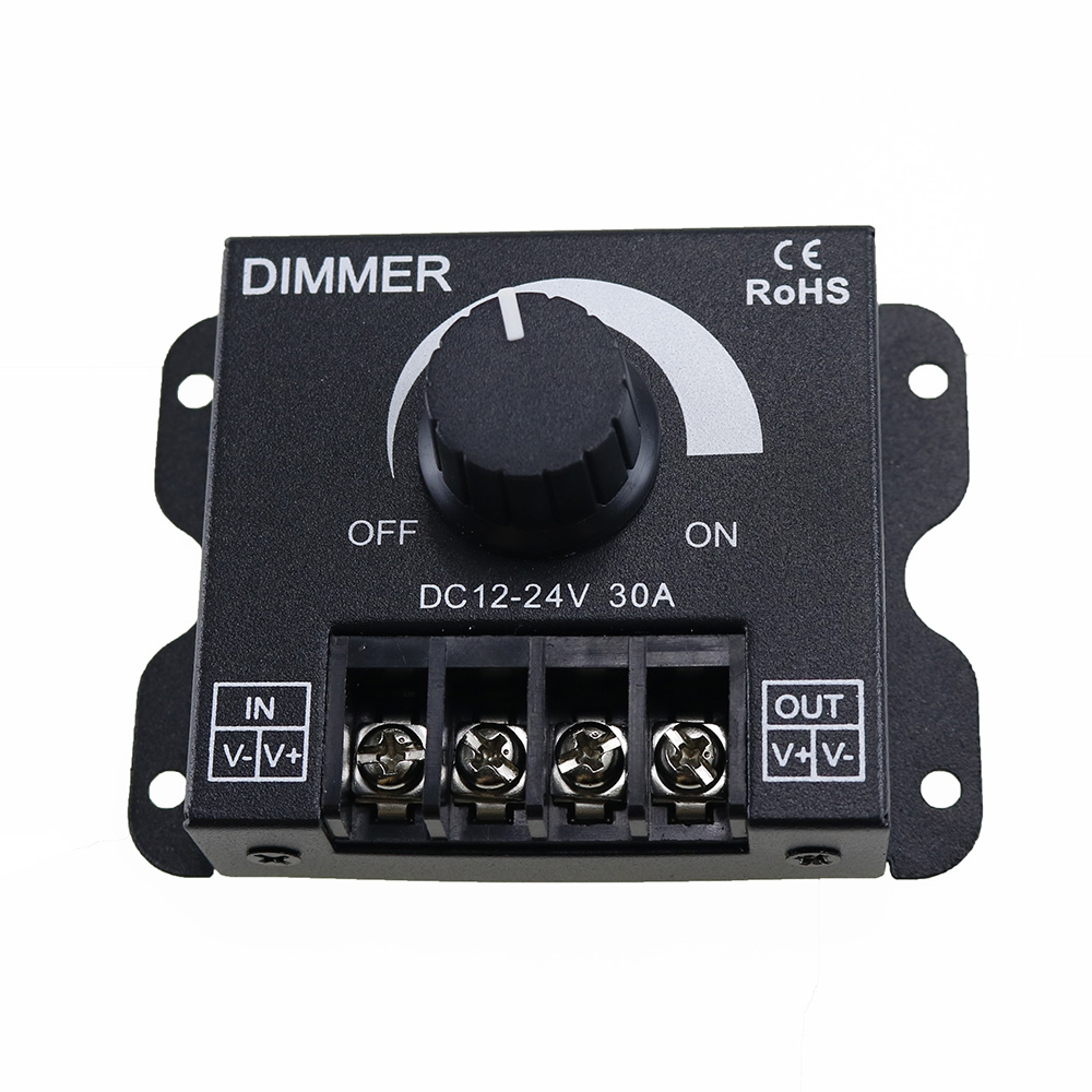 Регулируемая яркость LED Регулятор диммера для 5050 3528 Одноцветный свет полосы