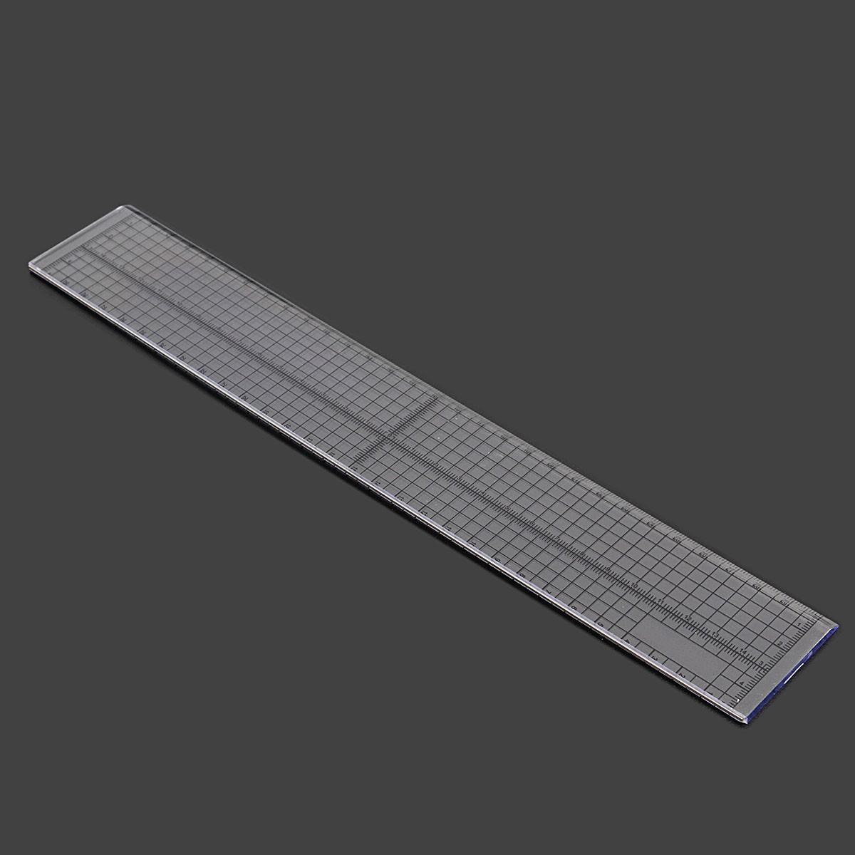 Шитье Лоскутное Линейка Лоскутное лапки Сетка Cutting Edge для Tailor Craft