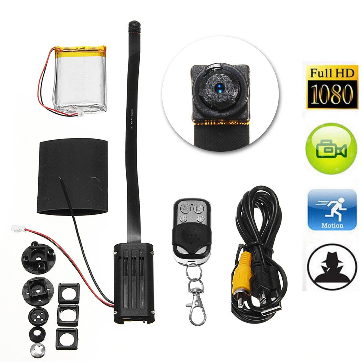 Видеорегистратор MINI DIY Модуль камера Видеокамера Водонепроницаемы с Дистанционное Управление