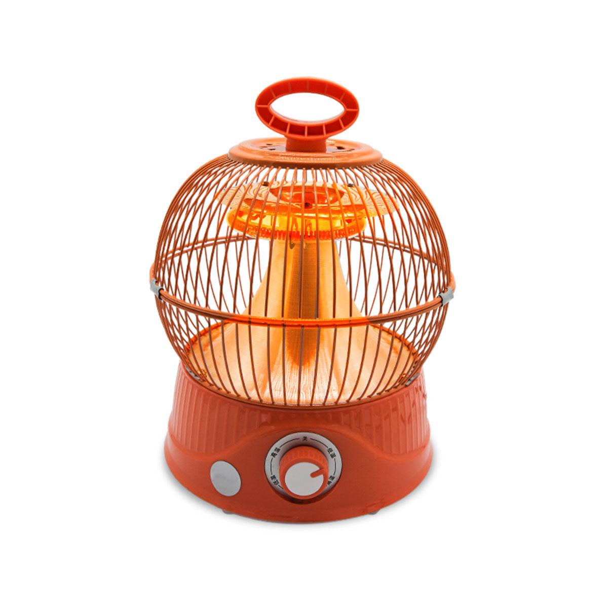900WMiniНагревательВентилятордля дома Энергосберегающая птица Кейдж Форма Электрический Нагреватель Вентилятор
