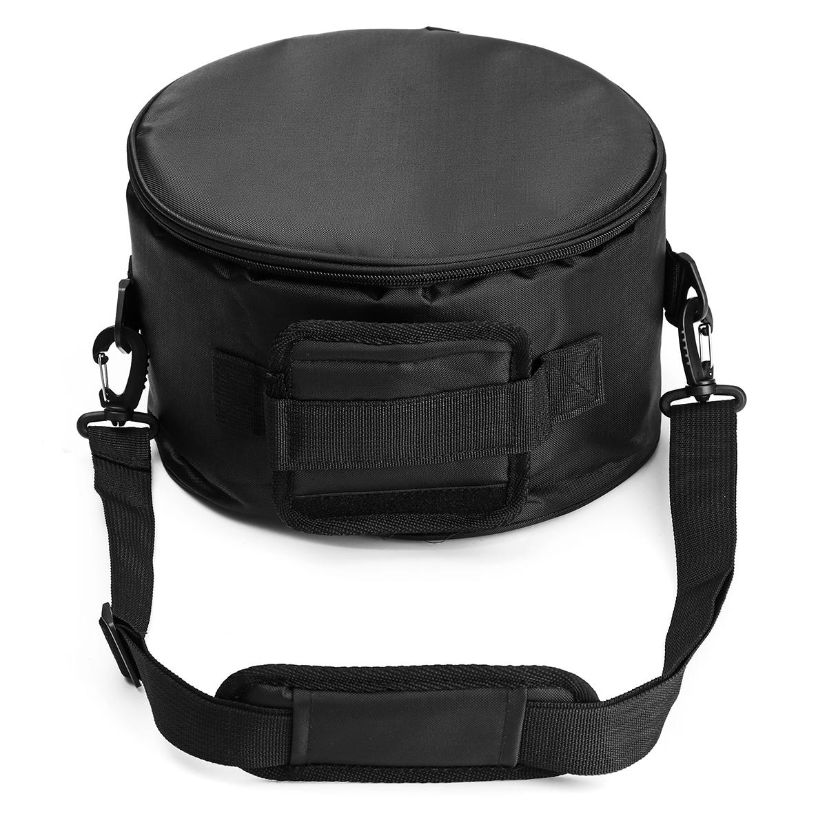 Стальной языковой барабан Сумка Хранение Пунш Soulder Crossbody Сумка Для На открытом воздухе Кемпинг Одежда для отдыха