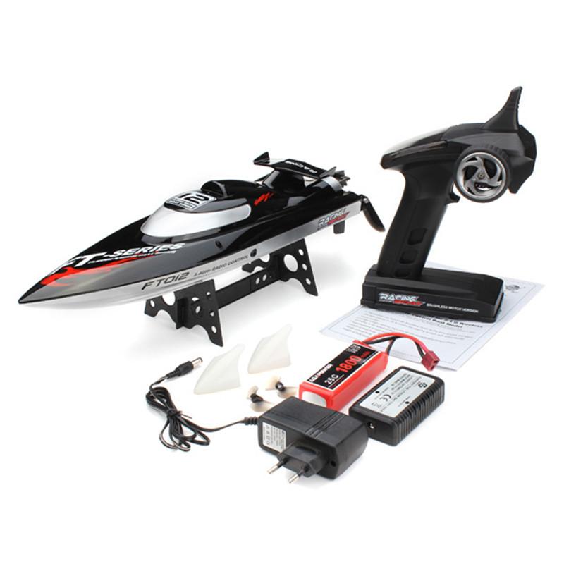 FT012МодернизированныйFT0092.4G50KM / H High Speed Бесколлекторный Racing RC Лодка Для игрушек для детей