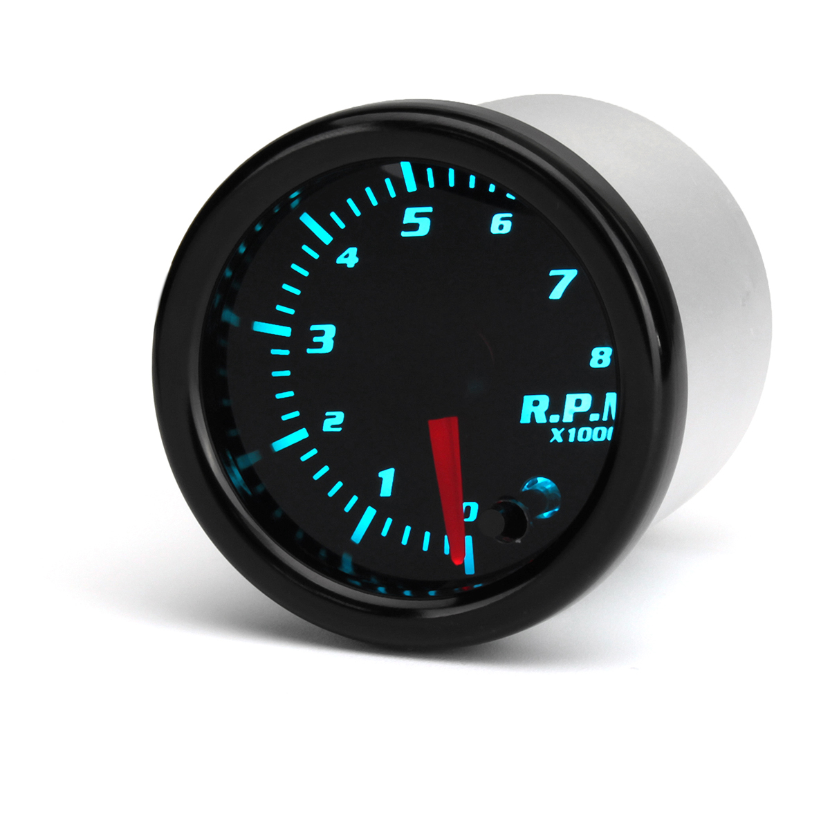 Универсальный 2 дюймов 52 мм Тахометр Tach RPM Gauge Digital 7 Цвет LED Дисплей Авто Измеритель