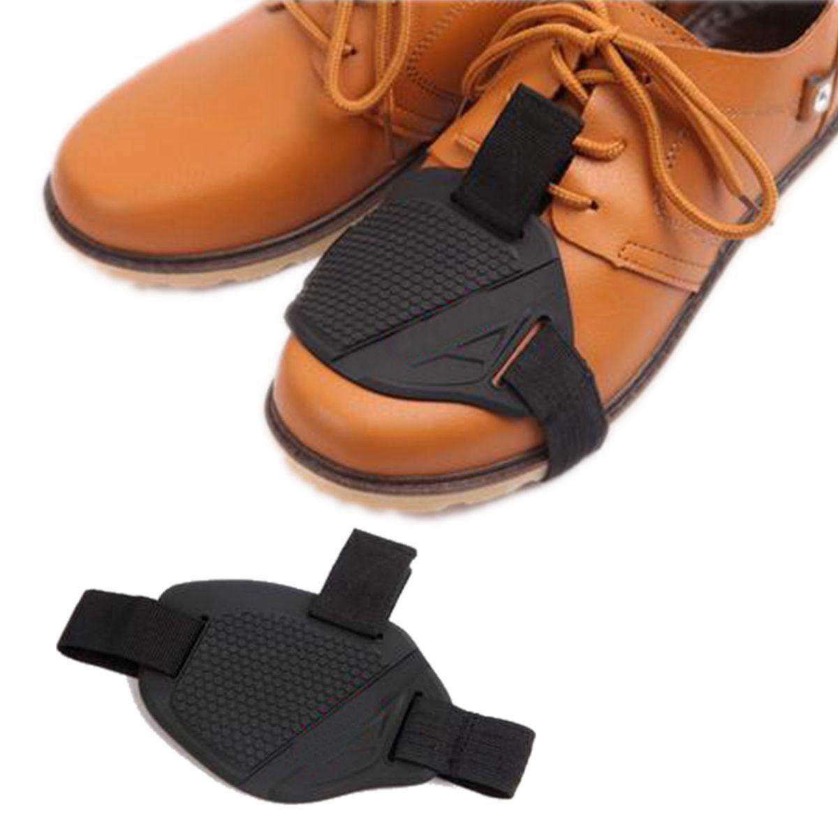 Черный мотоцикл Обтягивающая крышка носка обуви Защитник обуви Защитник рычага переключения передач