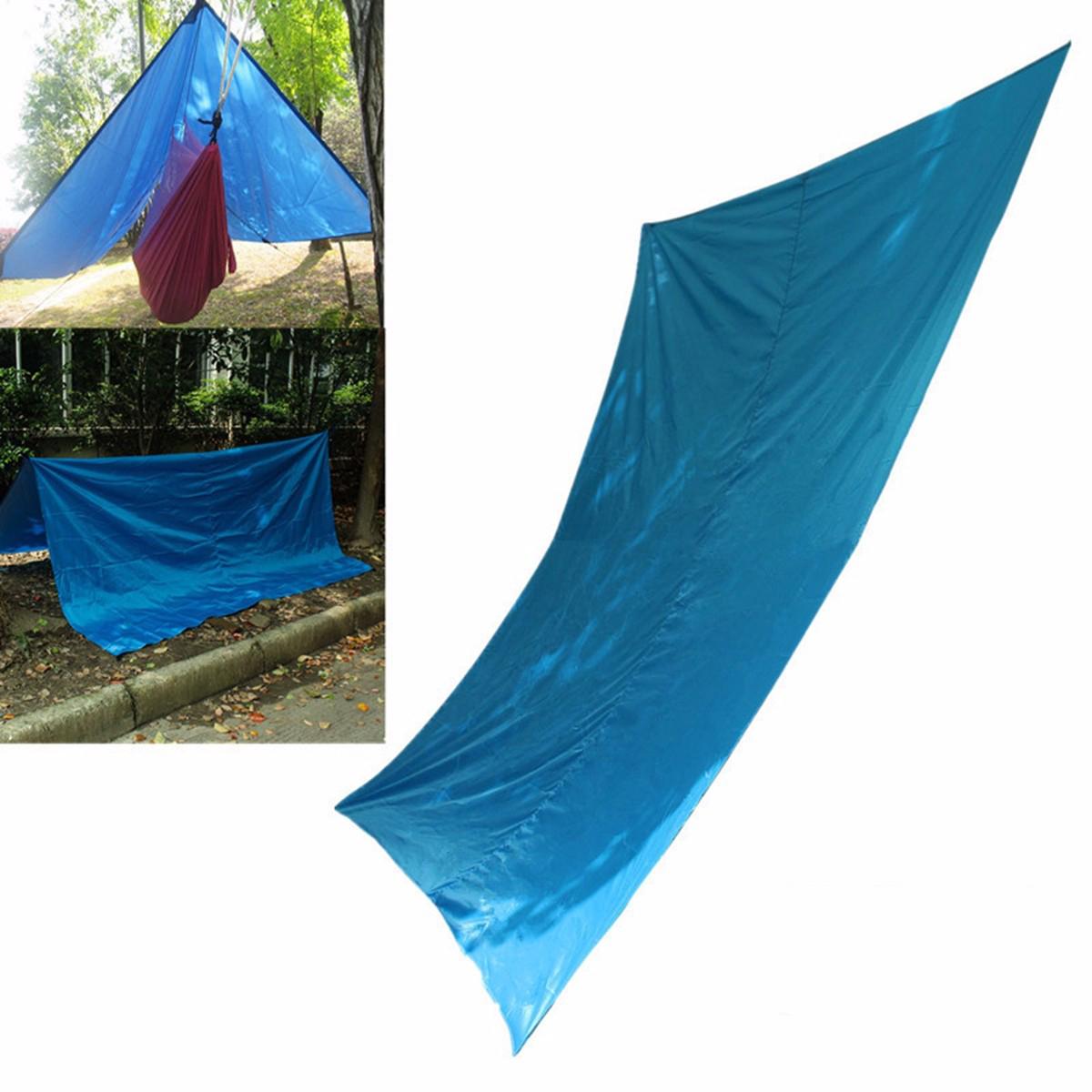 См X 300см Открытый Гамак Хэвелок Навес Навес ВС Shelter Tent Shading Путешествия Отдых Туризм