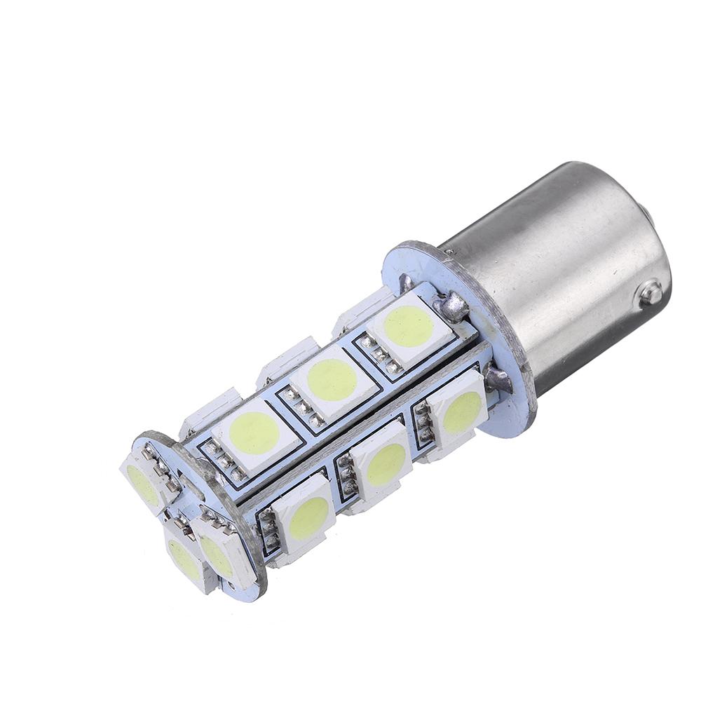 Вт1156BA15S505018SMD Авто LED Задний тормозной фонарь заднего хода Лампа указателя поворота 12 В 6000 К Белый