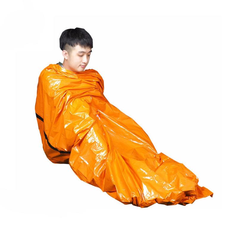 ®203x90смТепловоеодеялодлявыживания На открытом воздухе Аварийный спальный коврик Водонепроницаемы Коврик для первой помощи