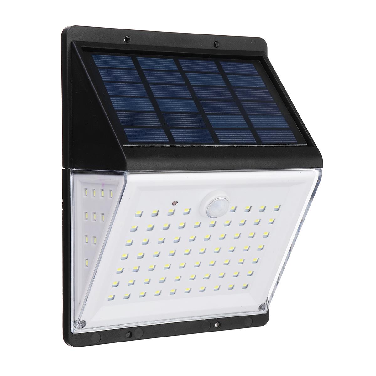 Шт 88 LED Солнечная Power Light PIR Motion Датчик Сад Безопасность На открытом воздухе Двор Стена Лампа