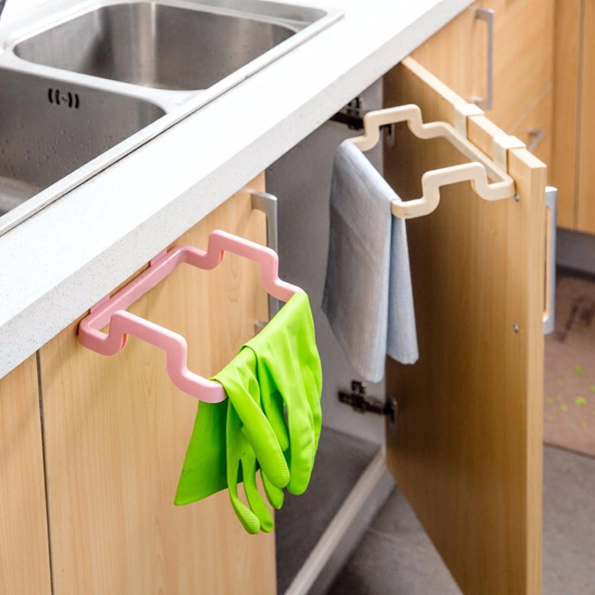 Кухонный шкаф Подвесной мусор Сумка Держатель для мусора Шкаф для хранения мусора Вешалка