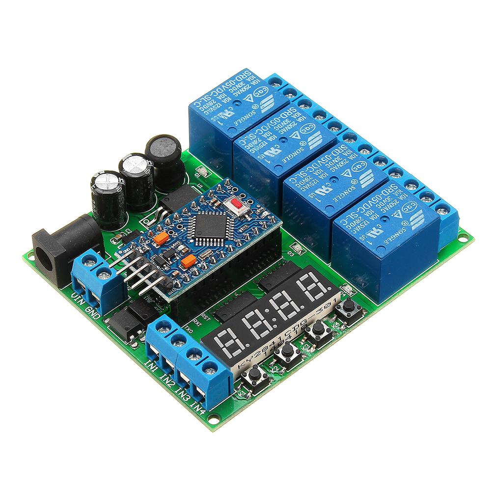 Канала для мини платы расширения Pro Diy Многофункциональное реле задержки PLC Power Timing Device
