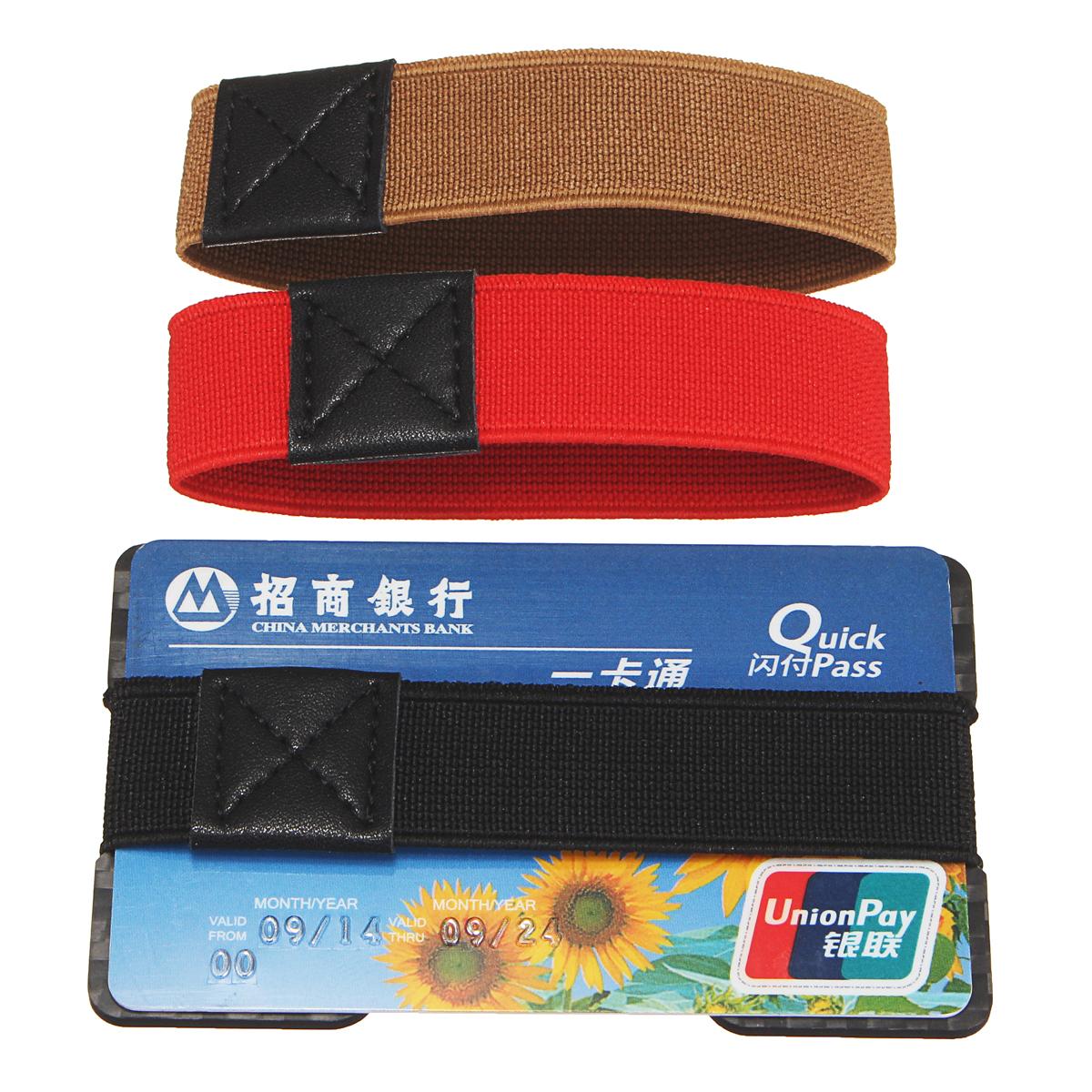 Углеродное волокно 3K RFID Блокировка мужская кредитная карта для кредитных карт Держатель для денег ClipArt Тонкий Кошелек с 3 полосками
