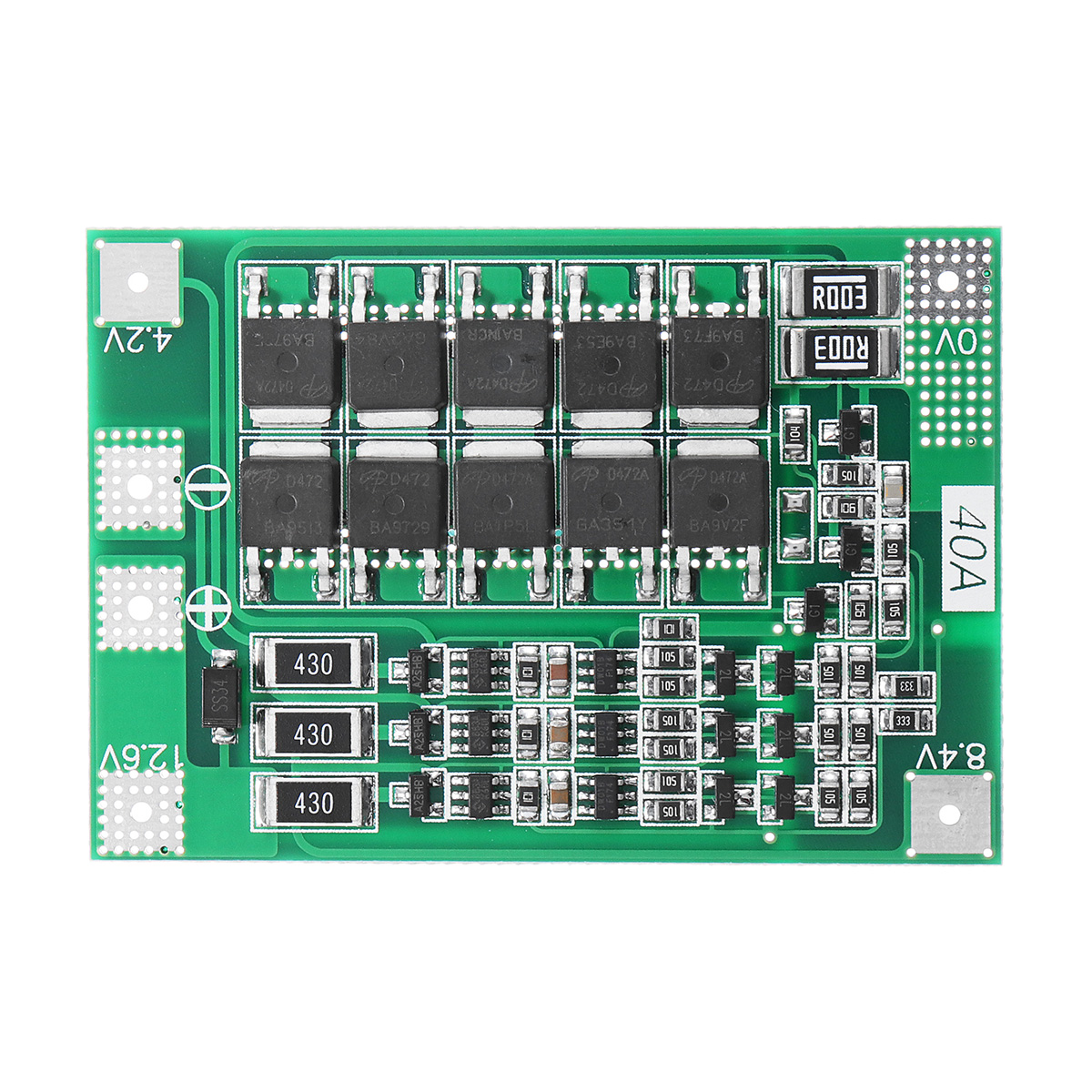 Батарея#and#nbsp;PCB BMS для защиты зарядного устройства для Дрель Мотор 11.1V 12.6V Lipo Cell Модуль с балансом
