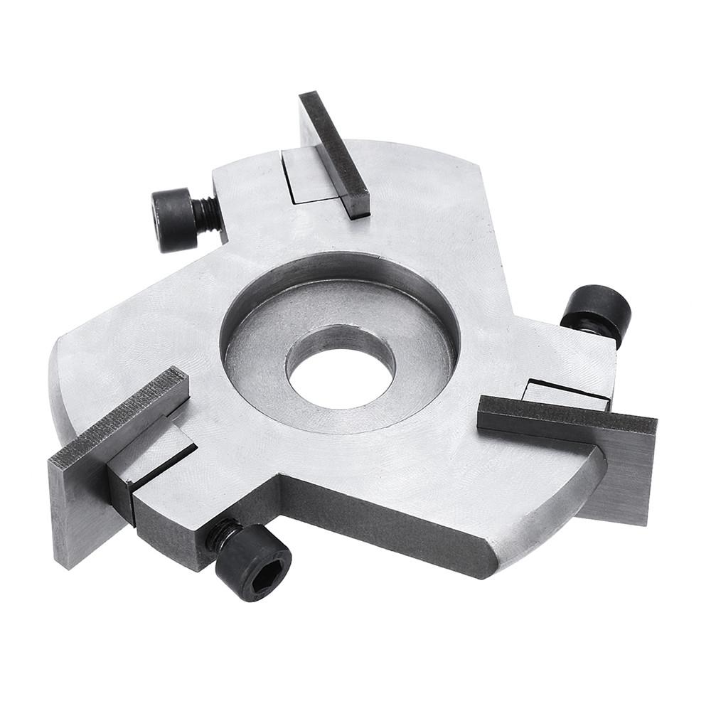 Мм шлифовальный диск Деревообработка Диск Деревообработка Съемный трехлопастный фрезерный фрезер