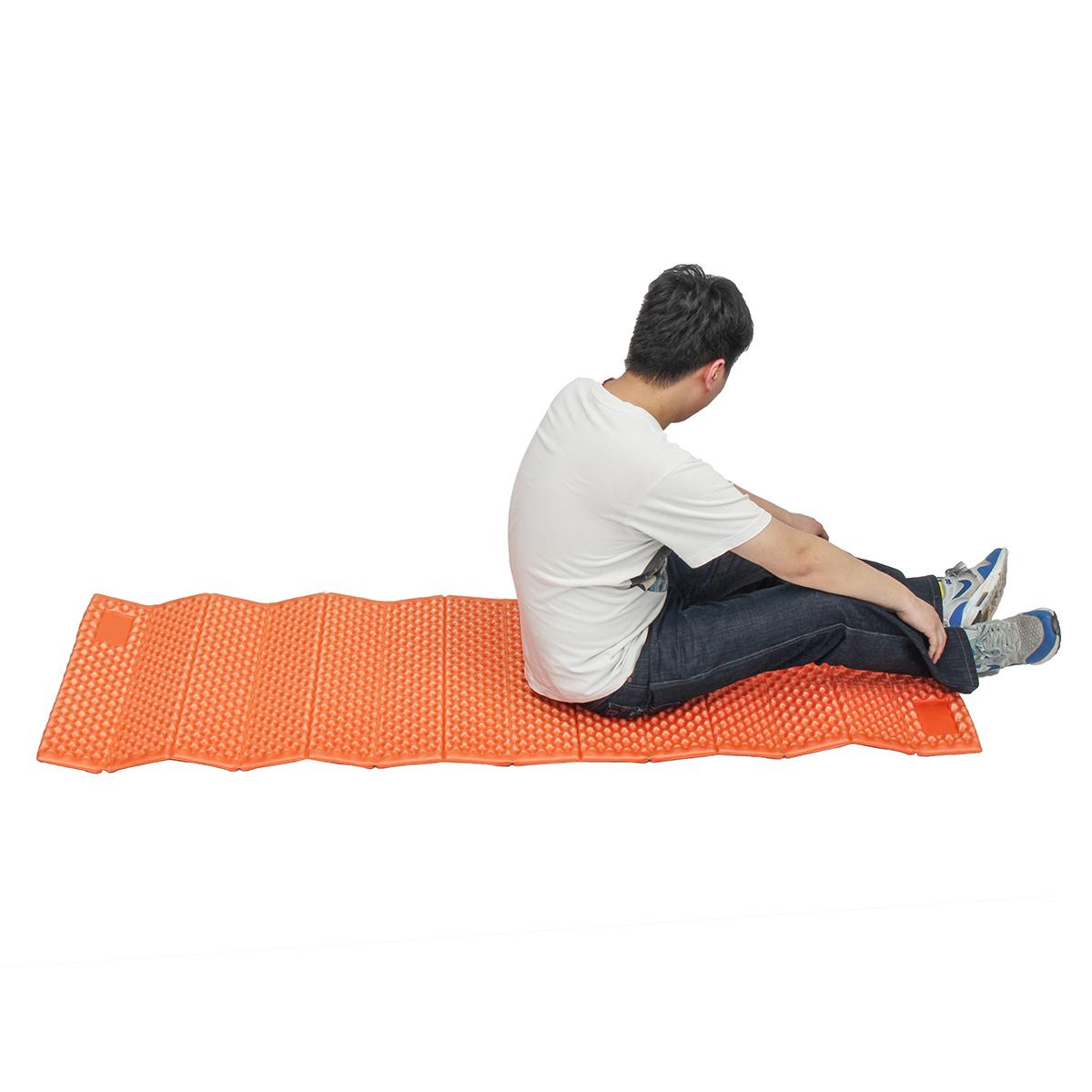 На открытом воздухе Кемпинг Пляжный Спящий коврик для пикника Влагонепроницаемый складной яйц