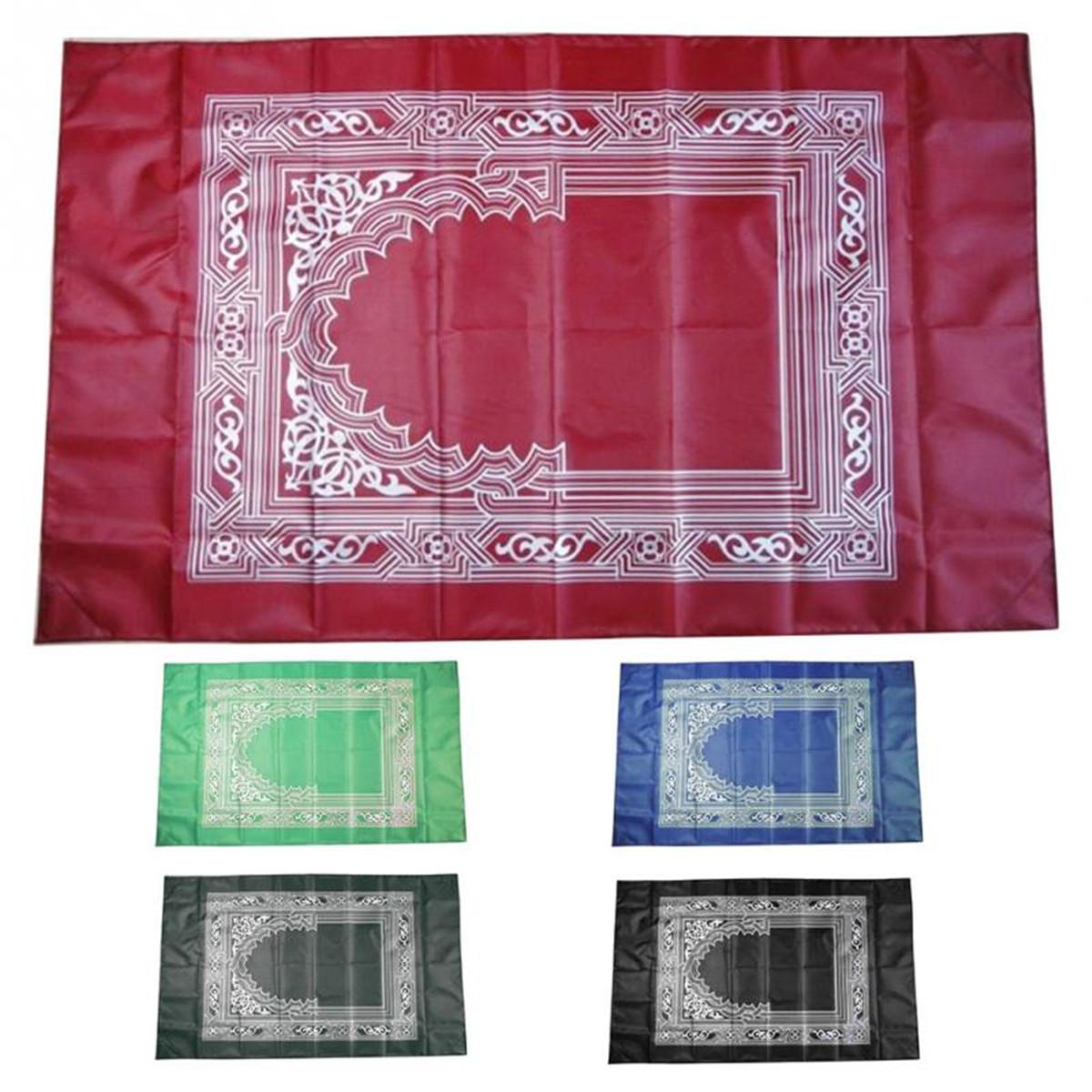 Портативный Исламский Молитвенный Ковер Teppich Легко Одеяло Молитвы C Карманный Рамадан Исламские Подарки Украшения