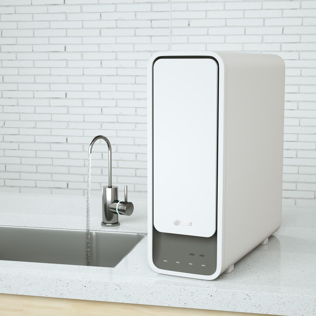 Новый352СмартОчистительВоды1000 Г RO Мембраны Обратного Осмоса Фильтр Для Воды Системы Кухни Тип Бытовой из XIAOMI youpin