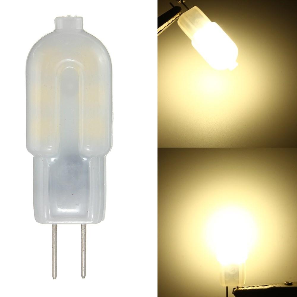 ШТ. G4 2 Вт Нерегулируемый SMD2835 Натуральное Белое Молоко Крышка Светодиодный Лампа для внутреннего DC12V