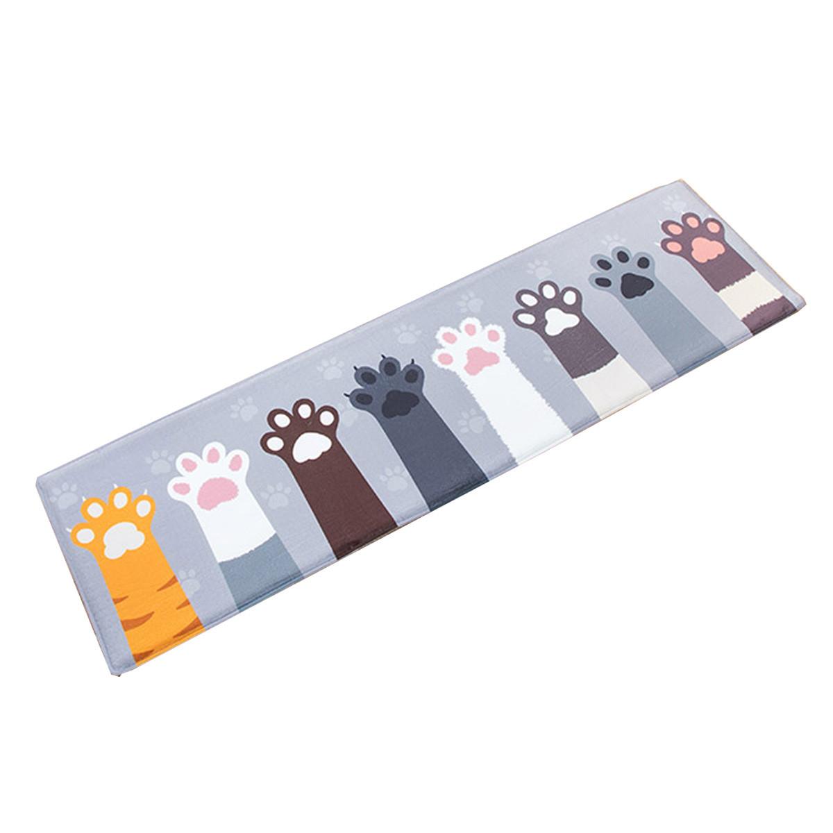 Размера фланель мультфильм коврик столовая домашний ковер коврик противоскольжения