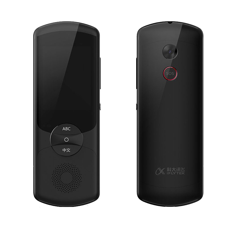 Языки Портативный сенсорный экран Двусторонний искусственный интеллектуальный голос-переводчик с SOS-сервисом (zh