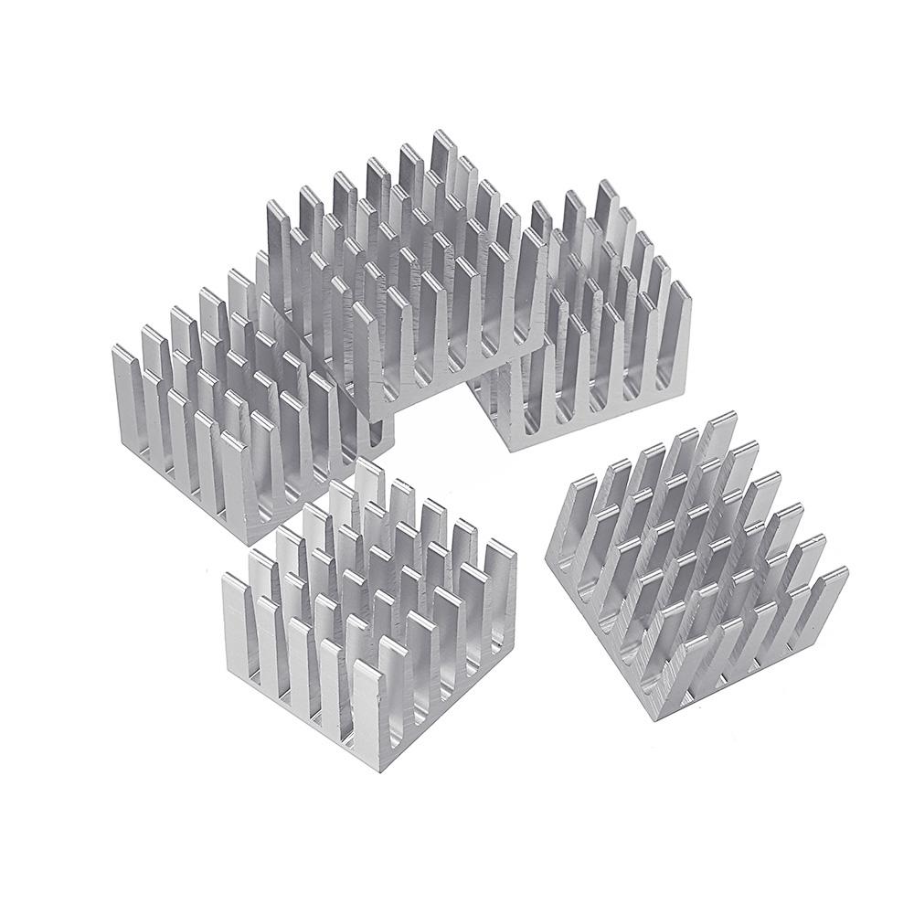Шт 20x20x15 мм DIY микросхема теплоотвода экструдированный кулер алюминиевый радиатор