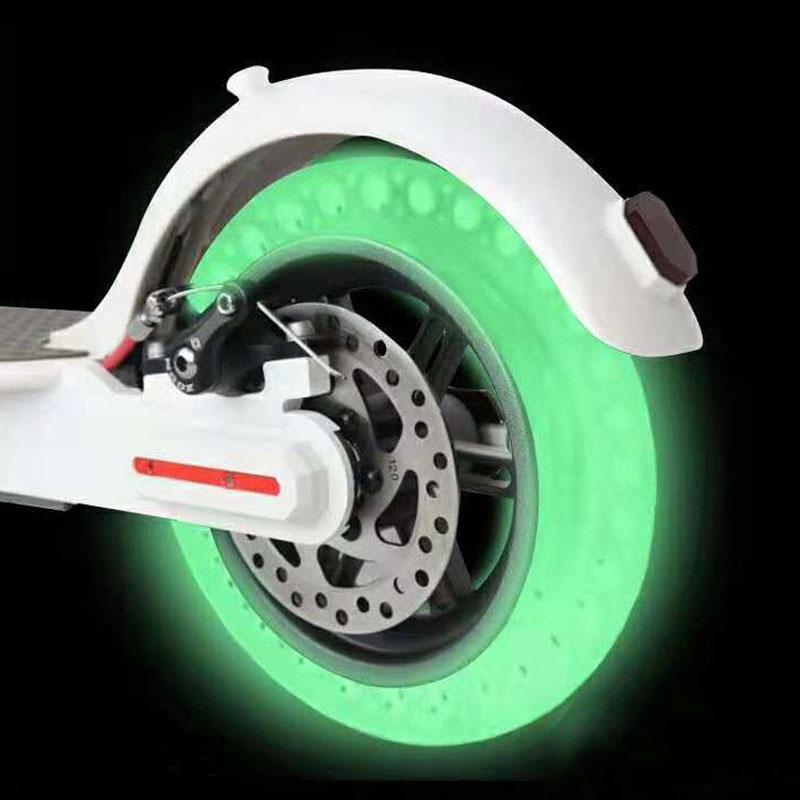 Дюймовый#and#nbsp;флуоресцентный#and#nbsp;амортизатор#and#nbsp;твердые#and#nbsp;колеса бескамерные для Xiaomi M365 электрический скутер