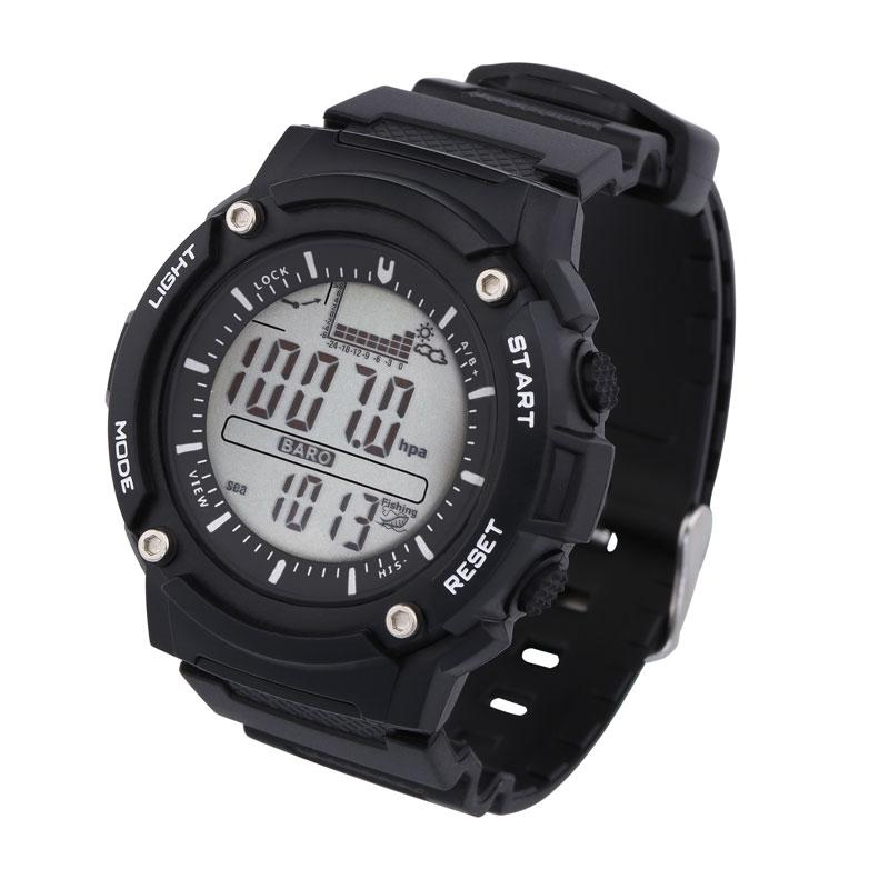 Рыбалка Барометр Часы цифровые часы Рыбалка барометр альтиметр часы термометр