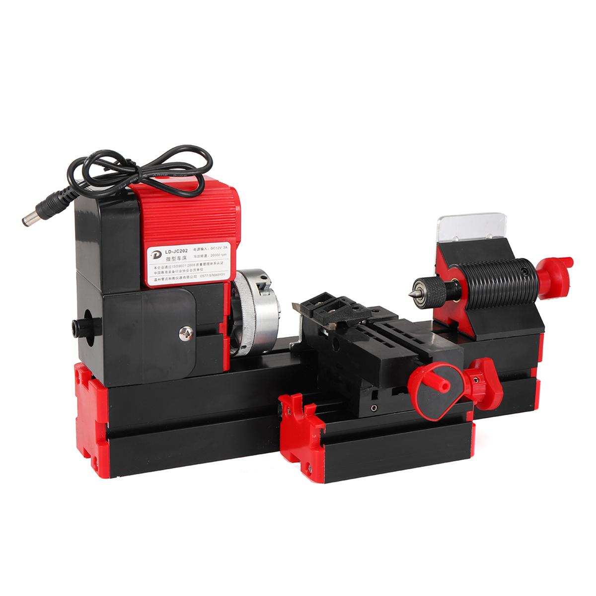Мини-токарно-фрезерный станок Bench Дрель DIY Деревообрабатывающая мощность Инструмент