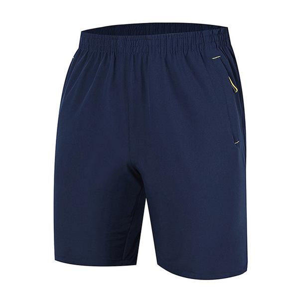 Летние мужские спортивные шорты для стрижки Тонкие дышащие быстросохнущие досуг длиной до колен шорты