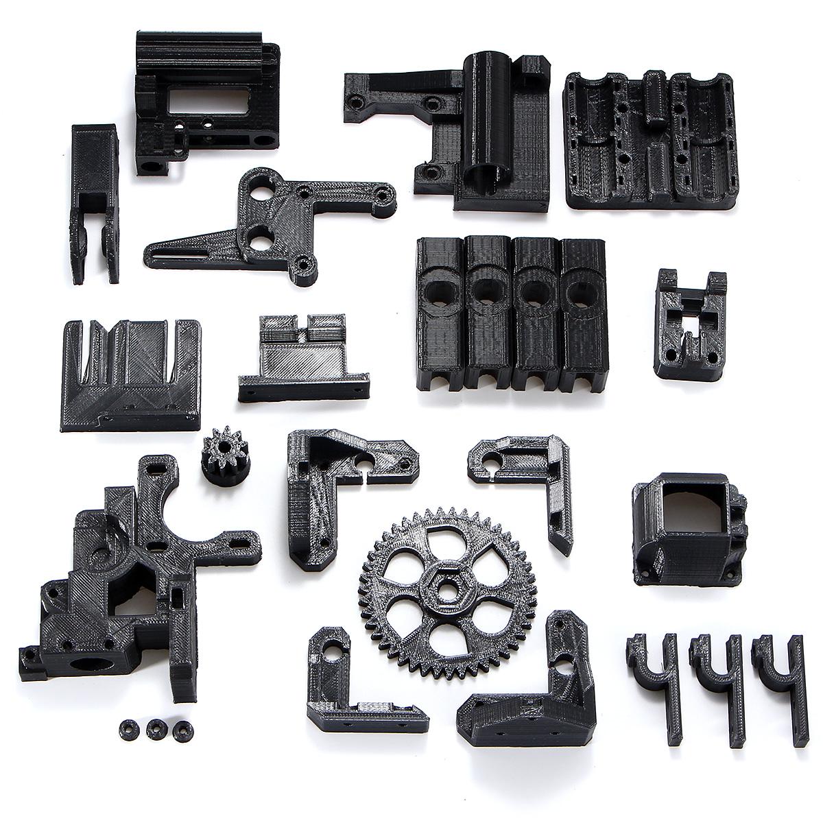 Черный ABS Нити Черный 3D Печатные Аксессуары Части DIY Набор Для RepRap Prusa i3 3D Принтер