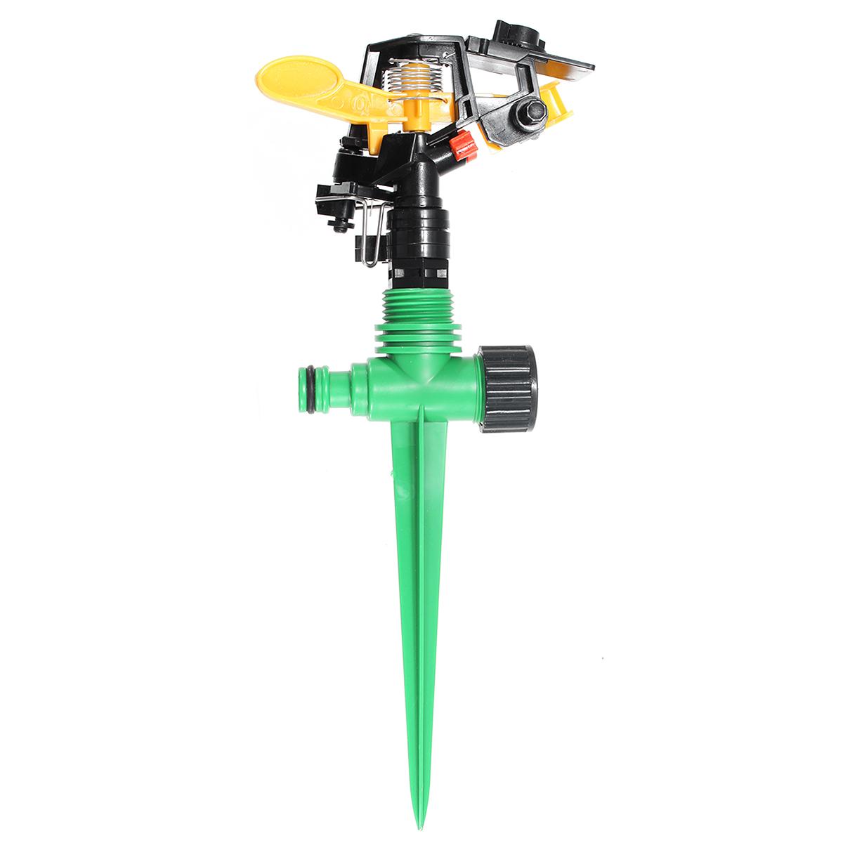 ° Ротационный оросительный опрыскиватель спринклера для дома Сад Yard Lawn