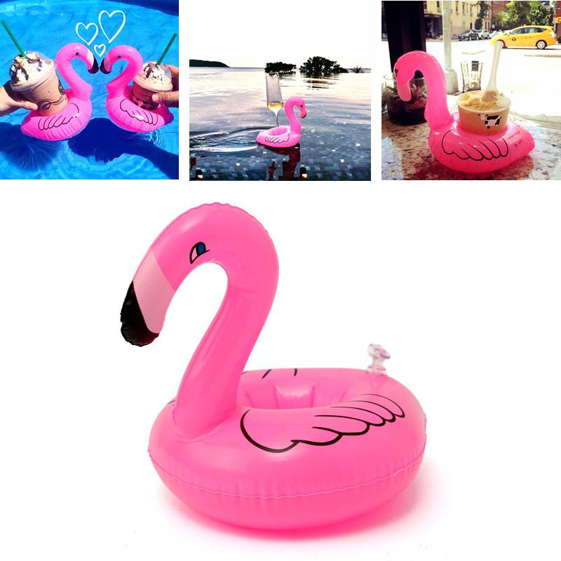 Надувная Flamingo напиток может держатель вечеринка бассейн домашний декор Дети игрушки