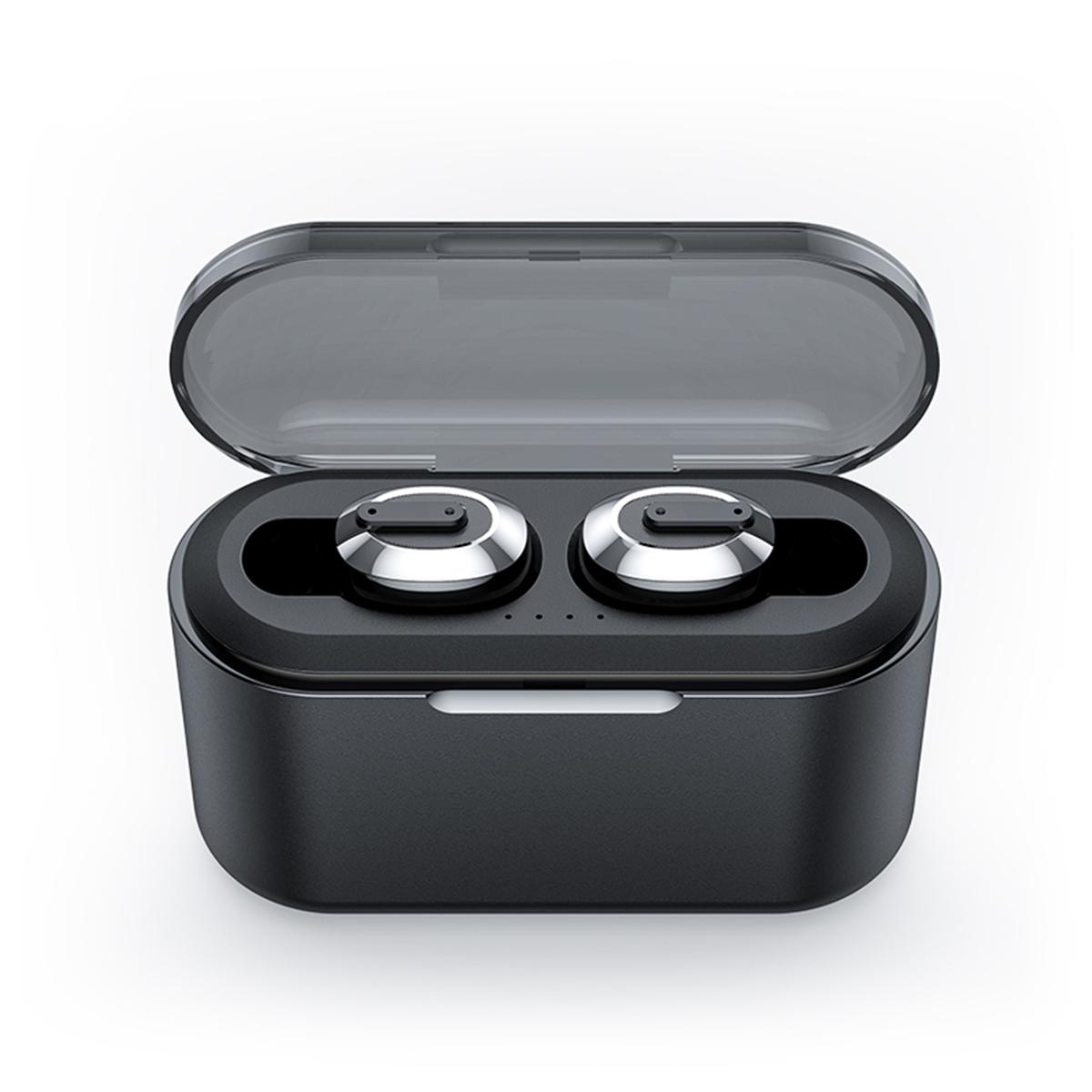 Шумоподавление] TWS Bluetooth 5.0 Mini Wireless Наушник IPX7 Водонепроницаемы Наушники с зарядкой 3000 мАч Коробка Power Bank