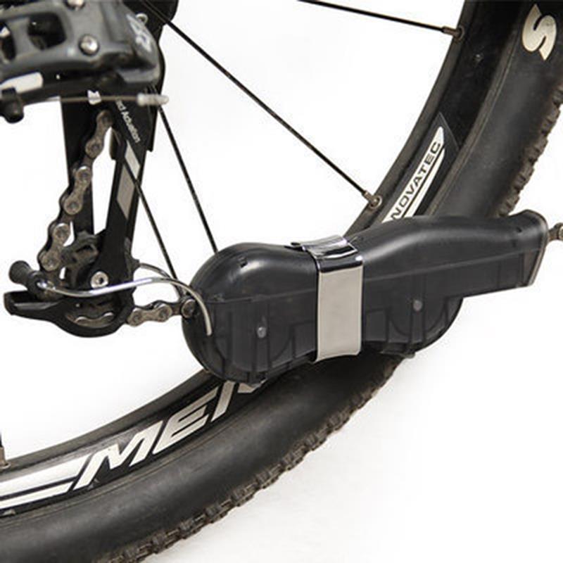 ТрехмернаяподвескаТипОчисткавелосипедных цепей Коробка Очистка велосипедных горных велосипедов Инструмент
