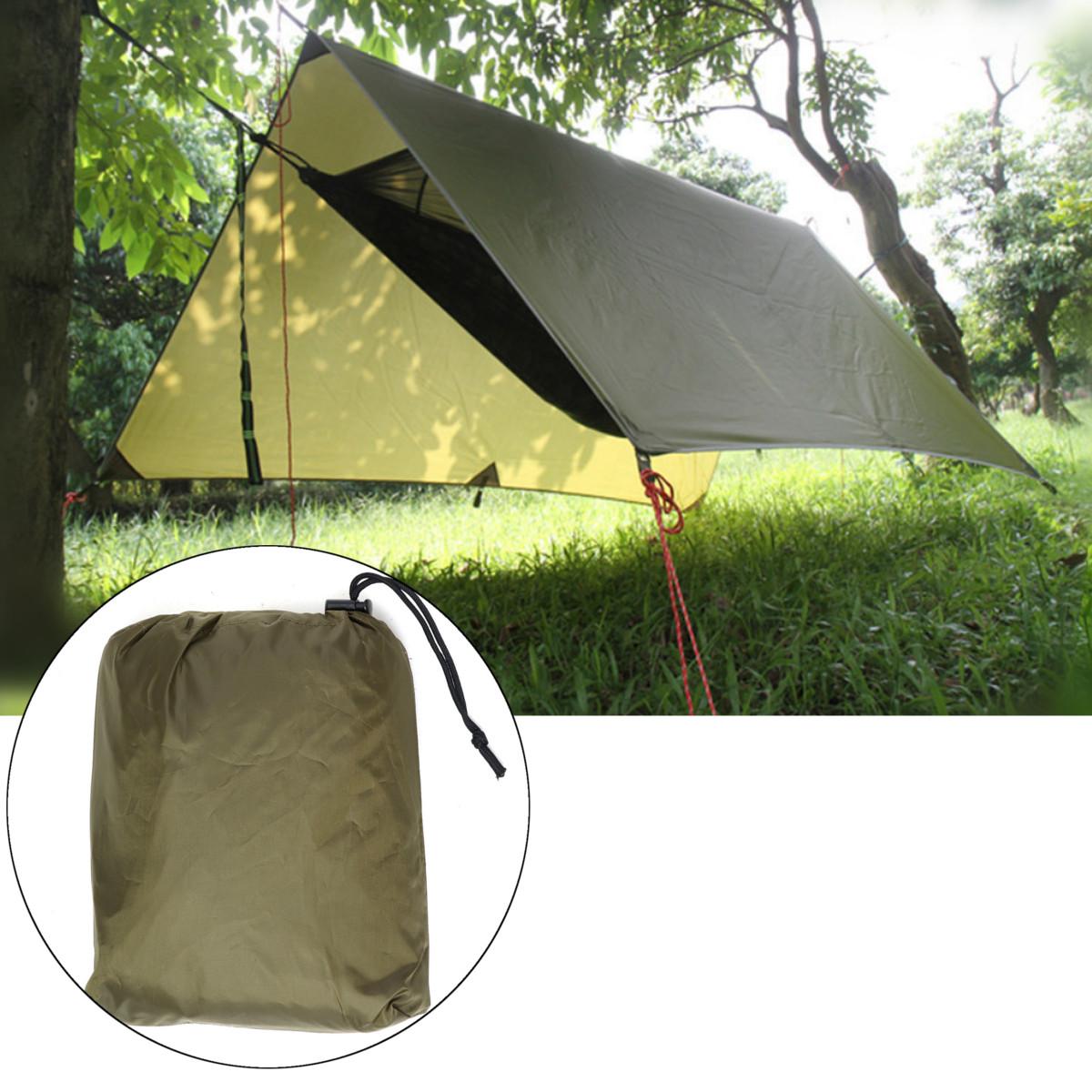 НаоткрытомвоздухеКемпингТентSunshade Canopy Водонепроницаемы Anti-UV Пляжный Тент с тентом для гаражного тента
