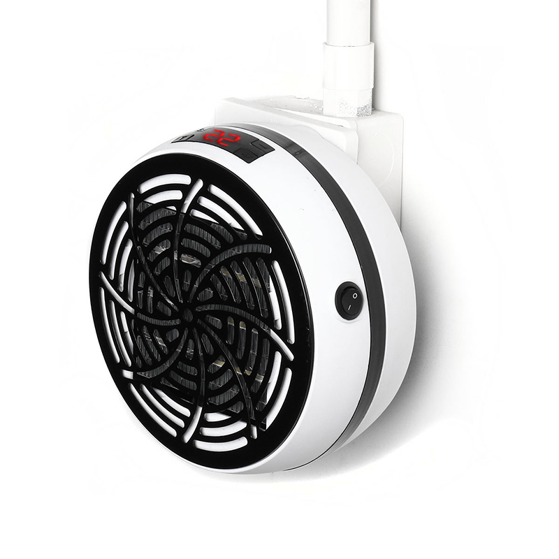 Вт Wonder Нагреватель Мини Портативный Электрический Нагреватель Вентилятор Wall-Outlet Handy Air Warmer Blower