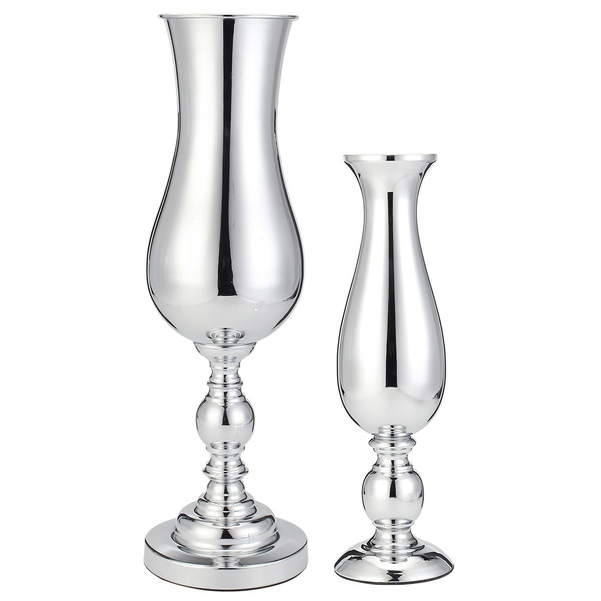 См Посеребренная ваза Уорн Центральная деталь Дисплей Свадебное Стол Цветочный орнамент