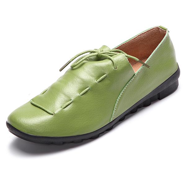 Вскользь#and#nbsp;нарядный#and#nbsp;шнурок#and#nbsp;вверх#and#nbsp;Soft#and#nbsp;Кожаный ботинок с круглым носком