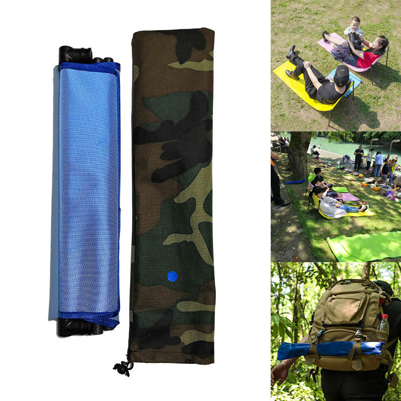 ® На открытом воздухе Портативный ленивый раскладной стул Диван Кемпинг Палатка для пикника, коврик, молотый Пляжный Pad