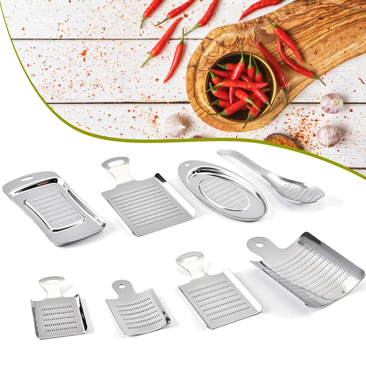 Ручной пресс для чеснока из нержавеющей стали Инструмент На открытом воздухе Кемпинг Приготовление блюд для барбекю