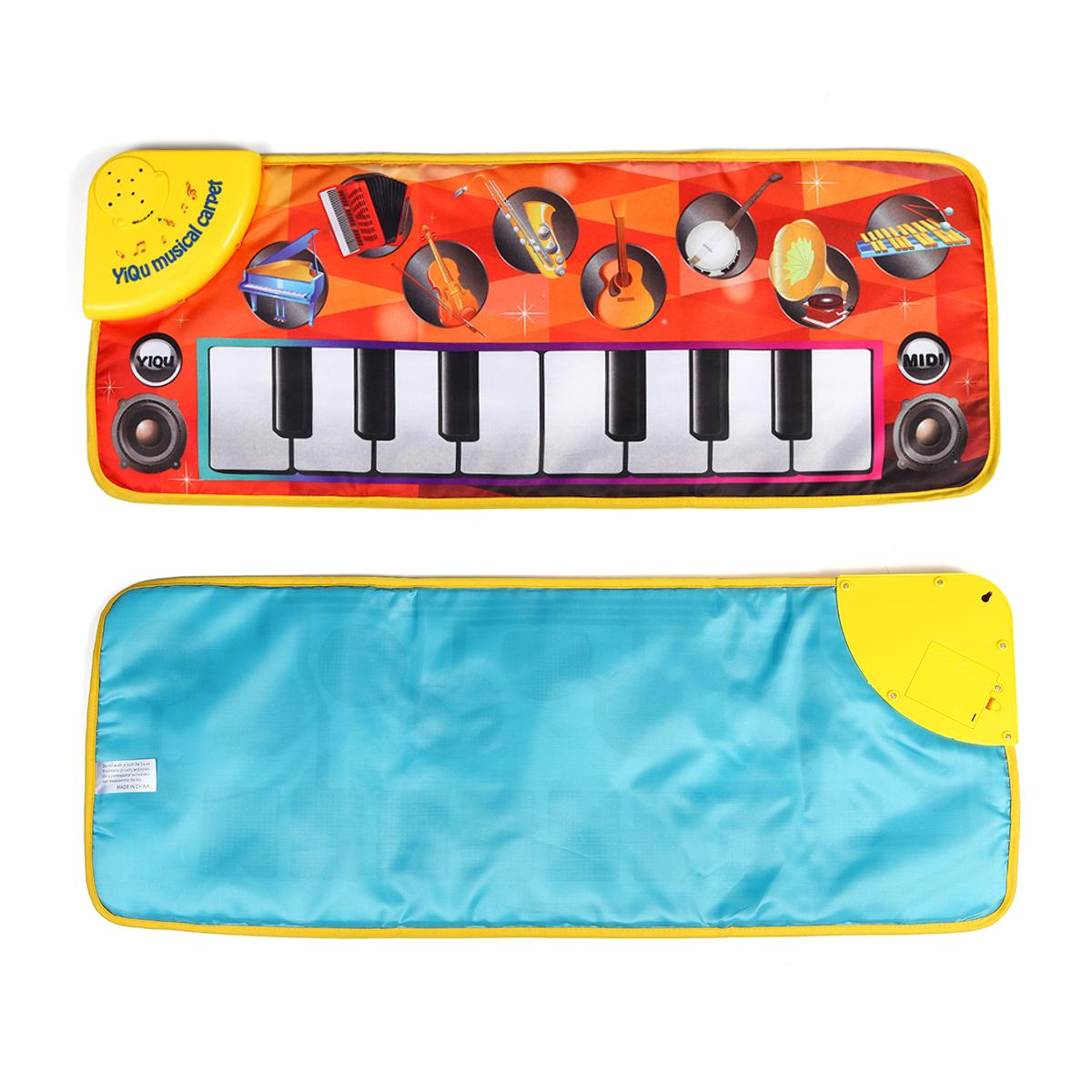 Х 28 СМ Детские Soft Музыкальный Коврик Детский Ползать Фортепиано Ковер Музыкальные Детские Игрушки Подарок