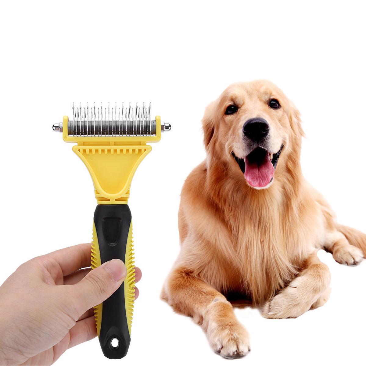 Собака Щетка для Шеддинг-Бест Кот Груминг Гребень Набор Пэт Волосы Триммер Машинка для стрижки