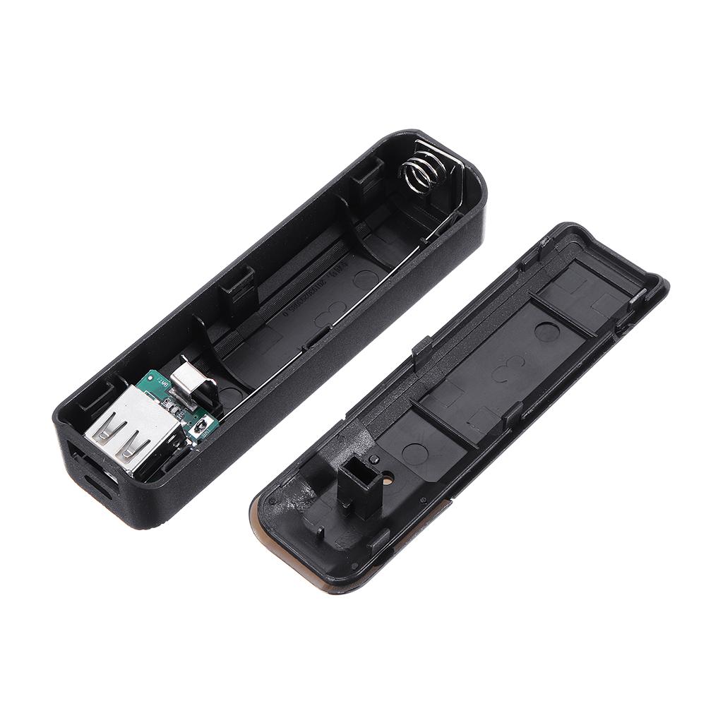 Портативное мобильное зарядное устройство USB Power Bank Коробка Батарея Модуль Чехол для 1x18650 DIY Power Bank