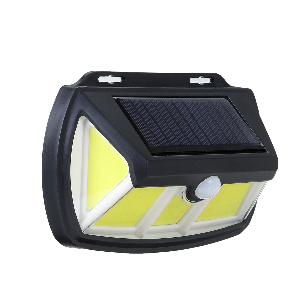Солнечная Power Wall Light PIR Motion Датчик На открытом воздухе Сад Лампа Водонепроницаемы IP65