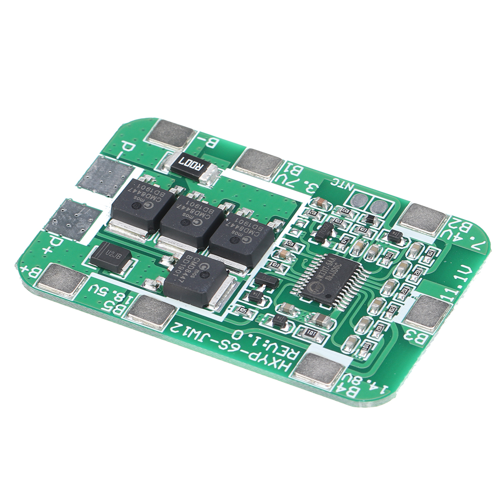 В 18650 Батарея Защитная плата для 18650 литий-ионных литий-ионных Батарея Зарядное устройство Модуль защиты PCB BMS