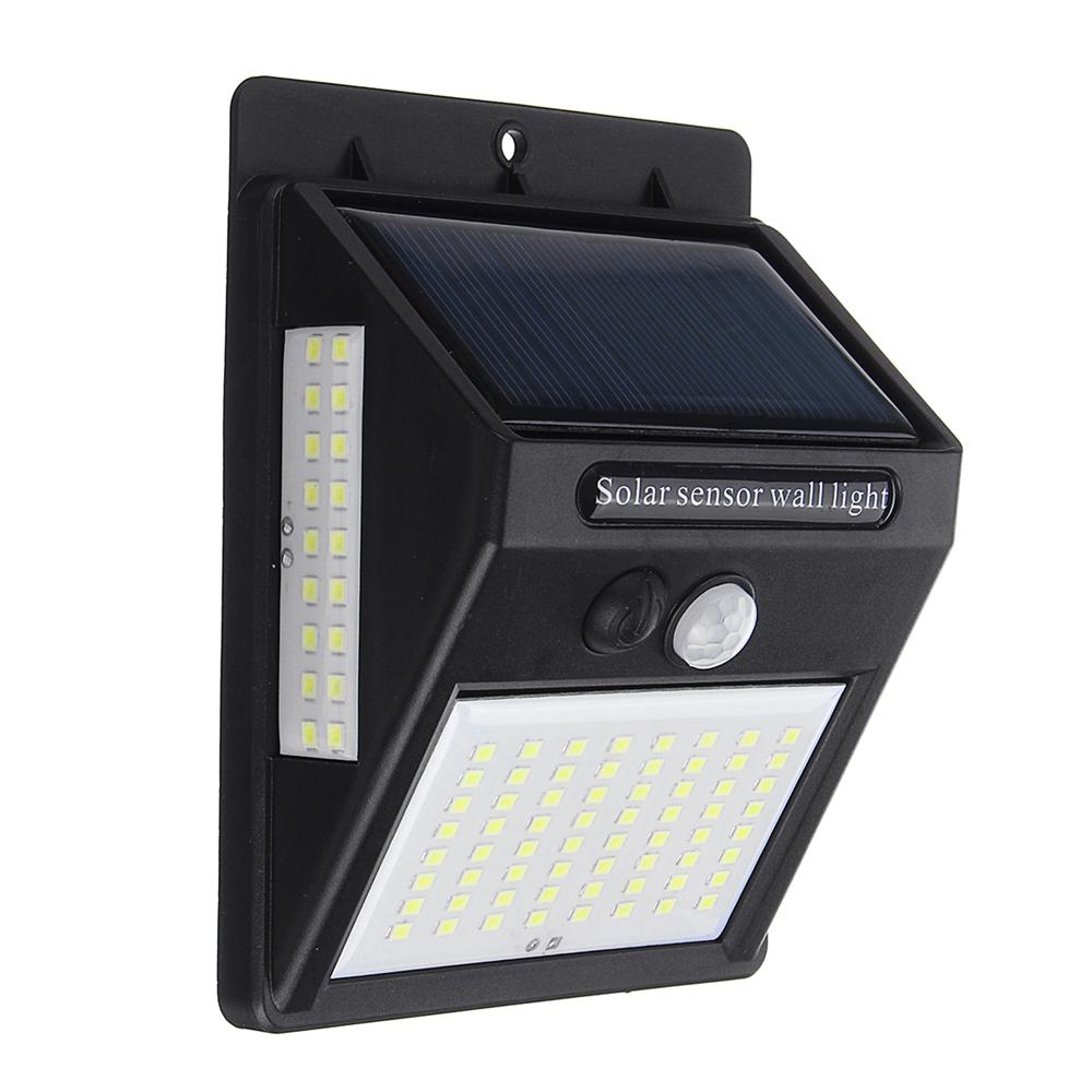 Солнечная Power Настенный светильник PIR Motion Датчик Безопасность На открытом воздухе Gardern Лампа