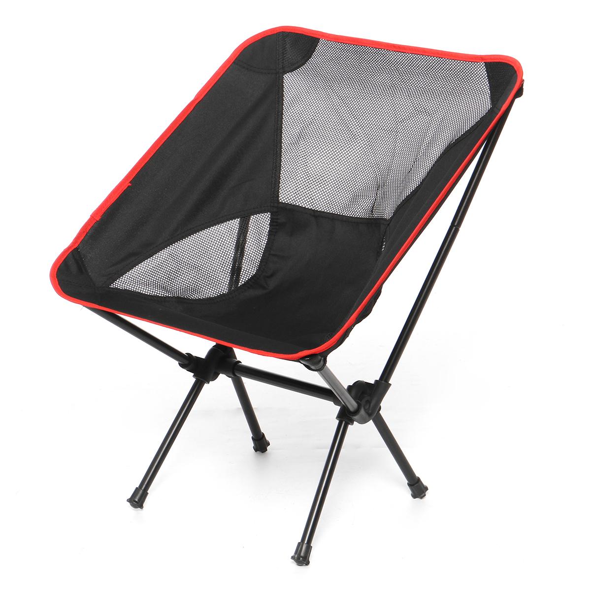 Портативный складной стул Рыбалка На открытом воздухе Складной стул Кемпинг Складной стул Пляжный