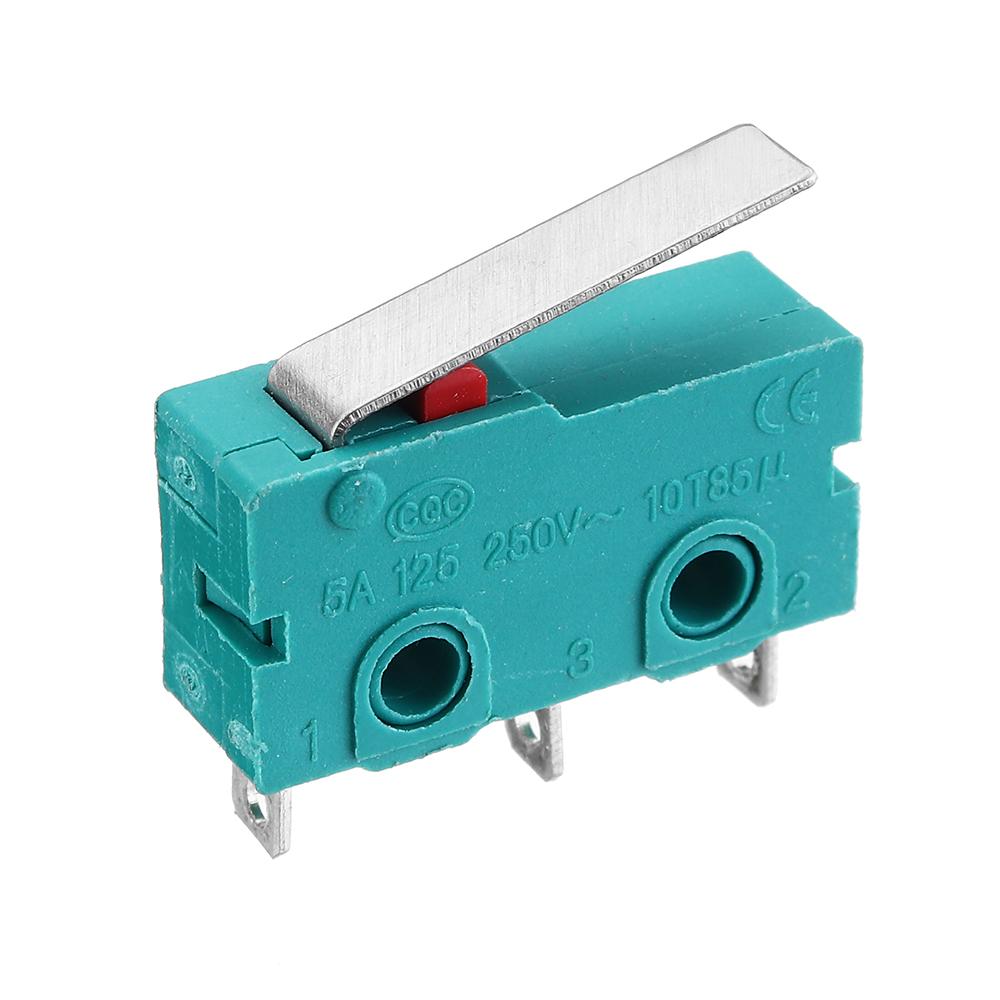 Прямой хвостовик 3D Pritner 3-контактный микропереключатель концевой выключатель предел SS-5GL