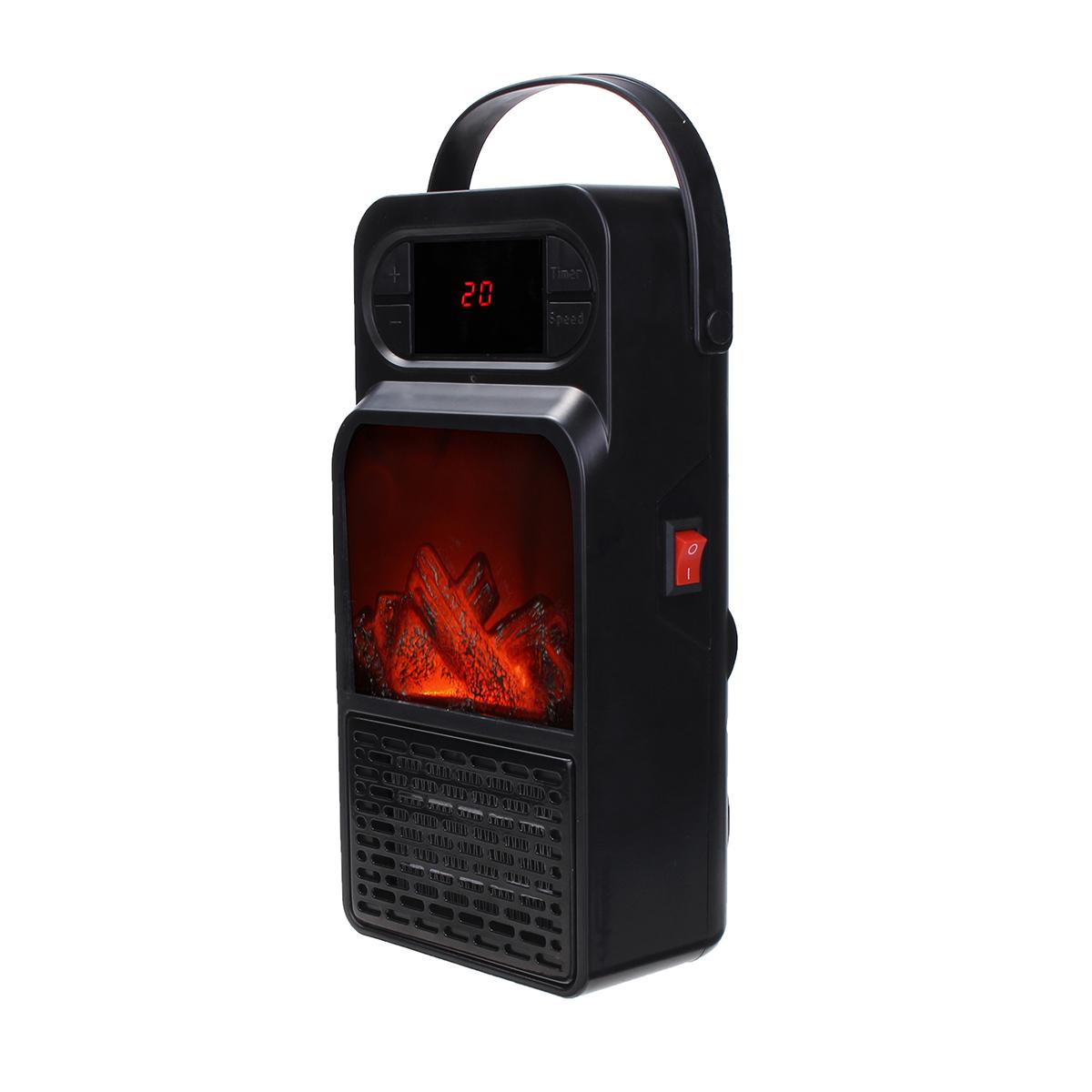 В 900 Вт Мини Портативный Электрический Нагреватель Вентилятор Горячий Вентилятор Дома Гаражи Офис Теплее Зимой