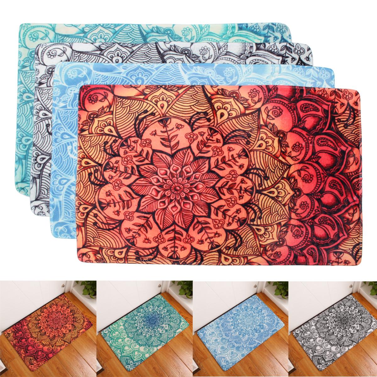 См абстрактный цветок противоскользящие дверные коврики напольный коврик для гостиной ковер Bathmat