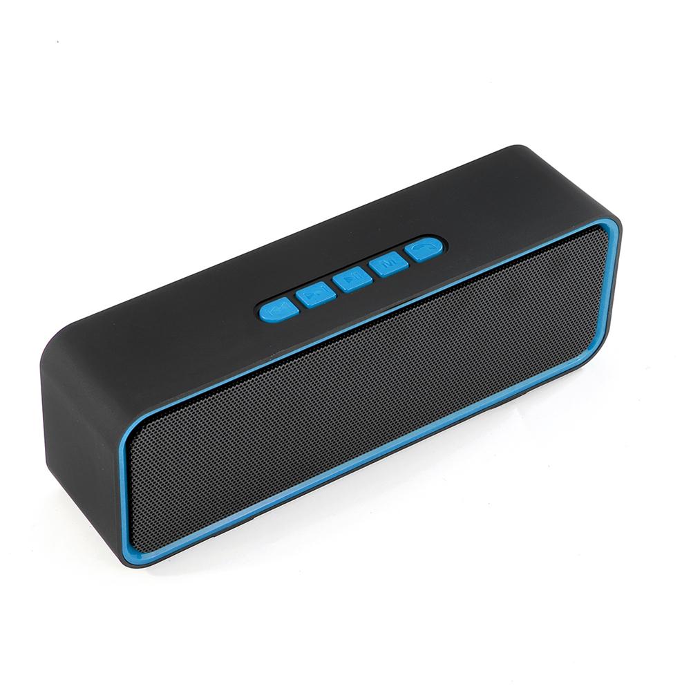 Портативный Беспроводной Bluetooth Динамик Soundbar Сабвуфер Стерео TF Карта TWS На открытом воздухе Динамик с Микрофоном